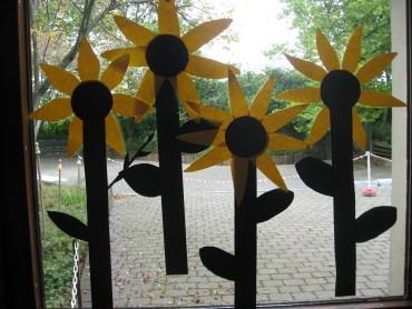 1 Sonnenblumen